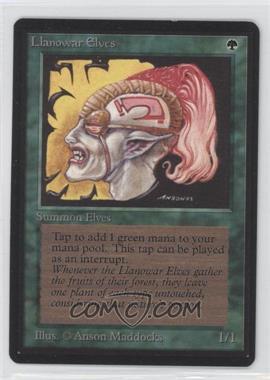 1993 Magic: The Gathering - Core Set: Beta Booster Pack [Base] #NoN - Llanowar Elves