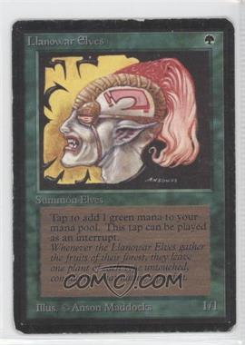 1993 Magic: The Gathering - Core Set: Beta Booster Pack [Base] #NoN - Llanowar Elves