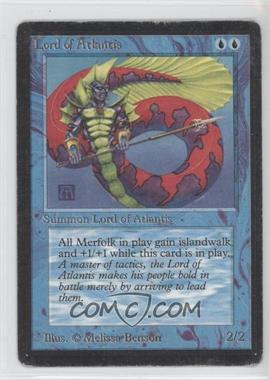1993 Magic: The Gathering - Core Set: Beta Booster Pack [Base] #NoN - Lord of Atlantis