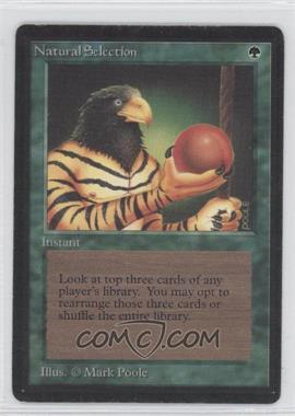 1993 Magic: The Gathering - Core Set: Beta Booster Pack [Base] #NoN - Natural Selection