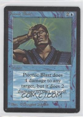 1993 Magic: The Gathering - Core Set: Beta Booster Pack [Base] #NoN - Psionic Blast