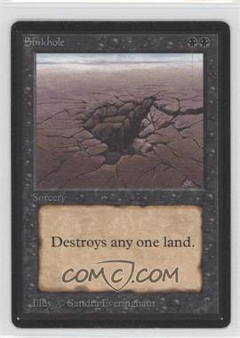 1993 Magic: The Gathering - Core Set: Beta Booster Pack [Base] #NoN - Sinkhole