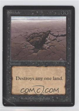 1993 Magic: The Gathering - Core Set Beta Booster Pack [Base] #NoN - Sinkhole