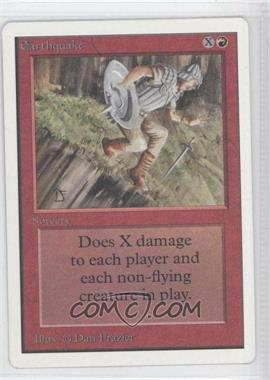 1993 Magic: The Gathering - Core Set: Unlimited - Booster Pack [Base] #NoN - Earthquake