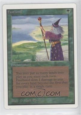 1993 Magic: The Gathering - Core Set: Unlimited - Booster Pack [Base] #NoN - Fastbond