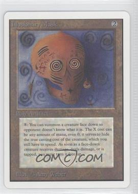 1993 Magic: The Gathering - Core Set: Unlimited - Booster Pack [Base] #NoN - Illusionary Mask