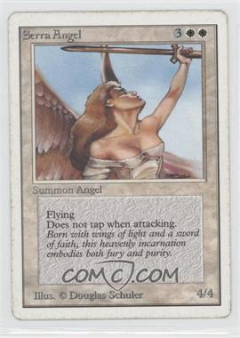1993 Magic: The Gathering - Core Set: Unlimited - Booster Pack [Base] #NoN - Serra Angel