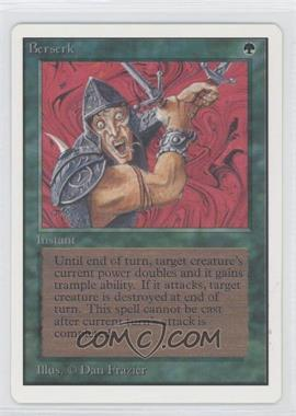 1993 Magic: The Gathering - Core Set: Unlimited Booster Pack [Base] #NoN - Berserk