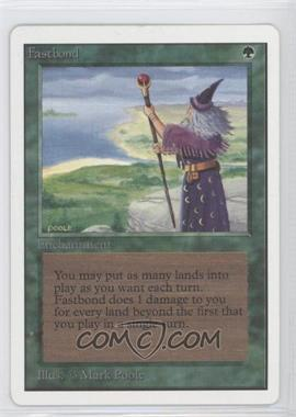 1993 Magic: The Gathering - Core Set: Unlimited Booster Pack [Base] #NoN - Fastbond