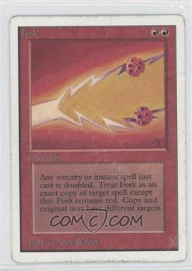 1993 Magic: The Gathering - Core Set Unlimited Booster Pack [Base] #NoN - Fork