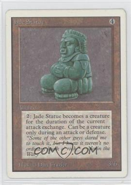 1993 Magic: The Gathering - Core Set: Unlimited Booster Pack [Base] #NoN - Jade Statue
