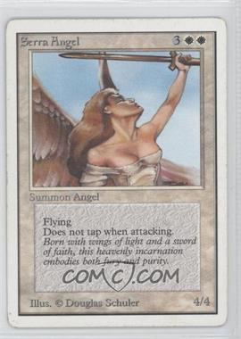 1993 Magic: The Gathering - Core Set Unlimited Booster Pack [Base] #NoN - Serra Angel
