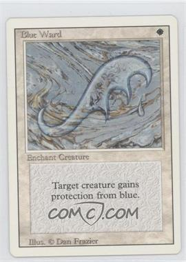 1994 Magic: The Gathering - Core Set: Revised Booster Pack [Base] #NoN - Blue Ward