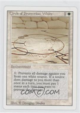 1994 Magic: The Gathering - Core Set: Revised Booster Pack [Base] #NoN - Circle of Protection: White
