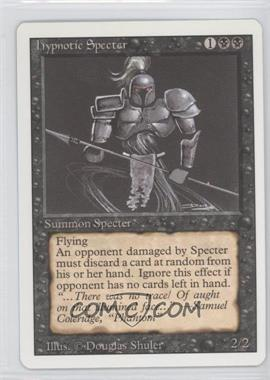 1994 Magic: The Gathering - Core Set Revised Booster Pack [Base] #NoN - Hypnotic Specter