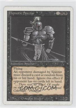 1994 Magic: The Gathering - Core Set: Revised Booster Pack [Base] #NoN - Hypnotic Specter