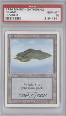 1994 Magic: The Gathering - Core Set: Revised Booster Pack [Base] #NoN - Island [PSA 10]
