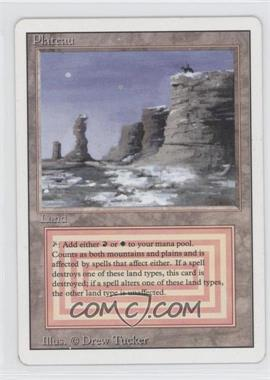 1994 Magic: The Gathering - Core Set: Revised Booster Pack [Base] #NoN - Plateau