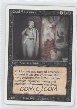 1994 Magic: The Gathering - Core Set: Revised Booster Pack [Base] #NoN - Royal Assassin