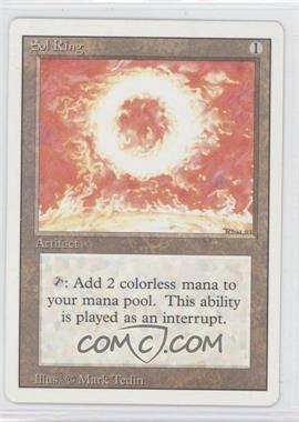 1994 Magic: The Gathering - Core Set: Revised Booster Pack [Base] #NoN - Sol Ring