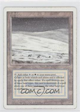 1994 Magic: The Gathering - Core Set: Revised Booster Pack [Base] #NoN - Tundra