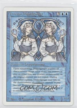 1994 Magic: The Gathering - Core Set: Revised Booster Pack [Base] #NoN - Vesuvan Doppelganger
