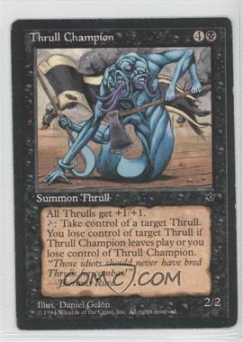 1994 Magic: The Gathering - Fallen Empires - Booster Pack [Base] #NoN - Thrull Champion