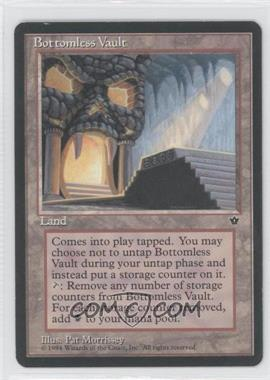 1994 Magic: The Gathering - Fallen Empires Booster Pack [Base] #NoN - Bottomless Vault