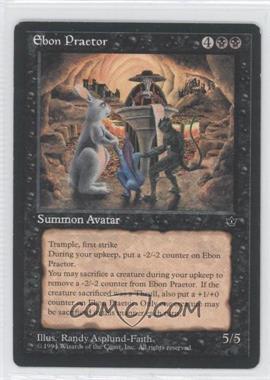 1994 Magic: The Gathering - Fallen Empires Booster Pack [Base] #NoN - Ebon Praetor