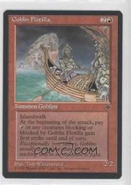 1994 Magic: The Gathering - Fallen Empires Booster Pack [Base] #NoN - Goblin Flotilla