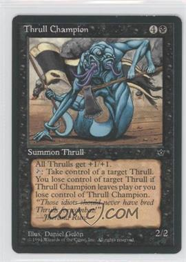 1994 Magic: The Gathering - Fallen Empires Booster Pack [Base] #NoN - Thrull Champion