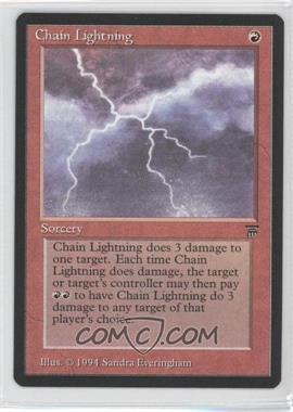 1994 Magic: The Gathering - Legends - Booster Pack [Base] #NoN - Chain Lightning