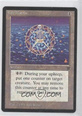 1994 Magic: The Gathering - Legends - Booster Pack [Base] #NoN - Life Matrix