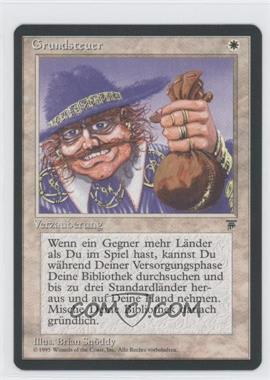 1994 Magic: The Gathering - Legends Booster Pack [Base] German #NoN - Land Tax