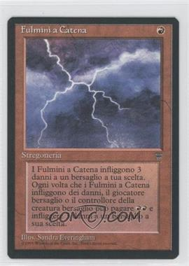 1994 Magic: The Gathering - Legends Booster Pack [Base] Italian #NoN - Chain Lightning