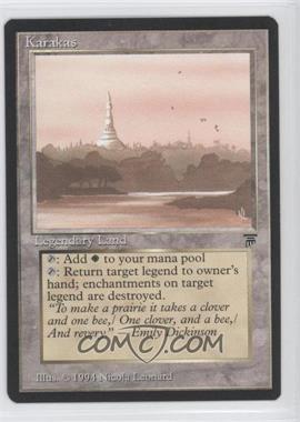 1994 Magic: The Gathering - Legends Booster Pack [Base] #KARA - Karakas :L: