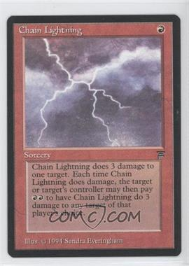 1994 Magic: The Gathering - Legends Booster Pack [Base] #N/A - Chain Lightning