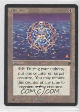 1994 Magic: The Gathering - Legends Booster Pack [Base] #N/A - Life Matrix