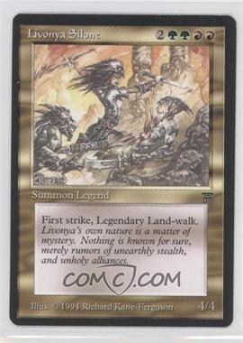 1994 Magic: The Gathering - Legends Booster Pack [Base] #N/A - Livonya Silone