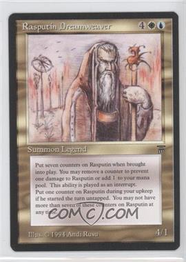 1994 Magic: The Gathering - Legends Booster Pack [Base] #N/A - Rasputin Dreamweaver