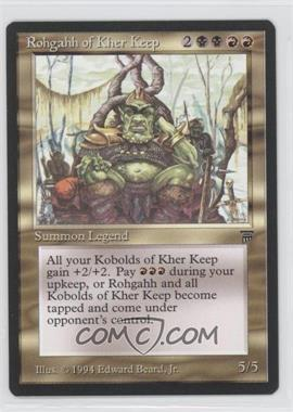 1994 Magic: The Gathering - Legends Booster Pack [Base] #N/A - Rohgahh of Kher Keep