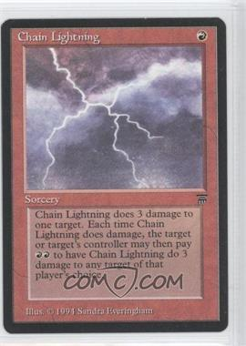 1994 Magic: The Gathering - Legends Booster Pack [Base] #NoN - Chain Lightning