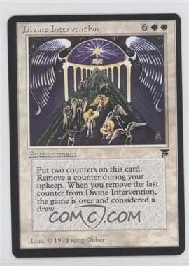 1994 Magic: The Gathering - Legends Booster Pack [Base] #NoN - Divine Intervention