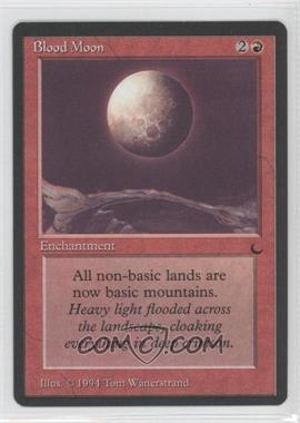 1994 Magic: The Gathering - The Dark - Booster Pack [Base] #NoN - Blood Moon