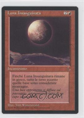 1994 Magic: The Gathering - The Dark Booster Pack [Base] Italian #NoN - Blood Moon