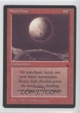 1994 Magic: The Gathering - The Dark Booster Pack [Base] #NoN - Blood Moon