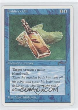 1995 Magic: The Gathering - Chronicles - Booster Pack White Border Compilation Set #NoN - Arabian Nights - Fishliver Oil