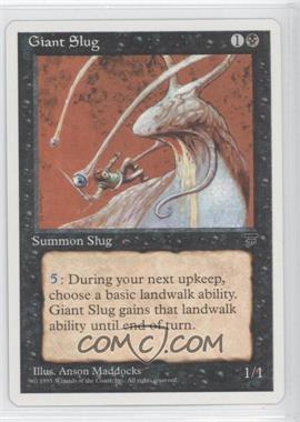 1995 Magic: The Gathering - Chronicles - Booster Pack White Border Compilation Set #NoN - Legends - Giant Slug