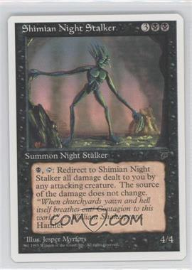 1995 Magic: The Gathering - Chronicles - Booster Pack White Border Compilation Set #NoN - Legends - Shimian Night Stalker