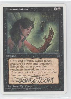 1995 Magic: The Gathering - Chronicles - Booster Pack White Border Compilation Set #NoN - Legends - Transmutation